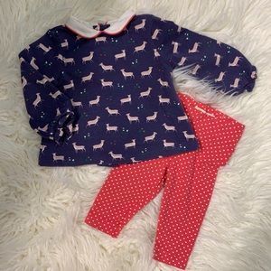 ✔️SOLD✔️Baby Boden deer outfit